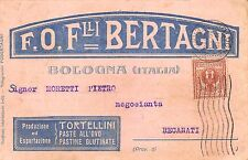 C5087) BOLOGNA, F. LII BERTAGNI, TORTELLINI, PASTE ALL'UOVO, PASTINE GLUTINATE.