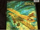 RARE, Vintage 1950's Busch Bavarian beer signs WWI Biplane - set of 2.