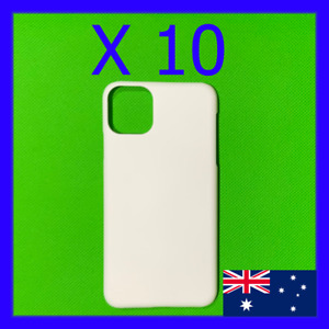 10 x Blank 3D Sublimation iPhone Hard Cases / Covers