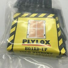 """Lot of 9 packs of 20 PLYLOX HURRICANE CLIPS - 1/2"""" Wood - 20 PCS Carbon Steel"""