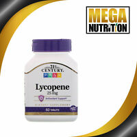 21st Century Lycopene Max Strength 25mg 60 Tablets | Antioxidant Healthy Heart