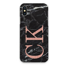 For iPhone 8/7/6/Plus/11/XS/Max/XR Case Personalised initials Name Phone Marble
