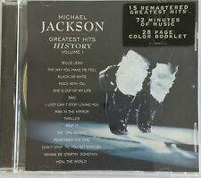 MICHAEL JACKSON - GREATEST HITS HISTORY Vol 1 CD Epic 2001