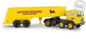 """BREKINA 58502 camion Fiat 690 con rimorchio AGIP """"Supercortemaggiore"""" 1:87"""