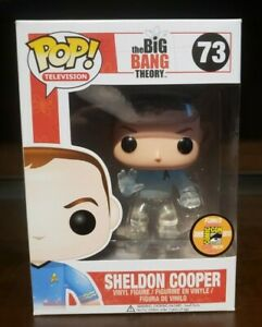 Sheldon Cooper Transporting 73 SDCC 2013 Funko Pop - Many More Pops Listed