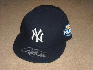 Derek Jeter 2012 Signed All Star Game Hat Cap New York Yankees Steiner