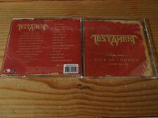 Testament - Live in London Brazilian Pressing CD