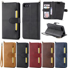Detachable Leather Flip Card Wallet Case For iPhone 11 Pro SE2 X XR XS 7 8 Plus