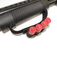 SHOTGUN SHELL HOLDER BLACK 4 ROUND HOLDER STRAP KIT 12GA /20GA