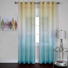 "Rainbow Single Grommet Curtain Panel - Blue (52"" x 63"" )"