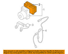 MAZDA OEM 04-09 3 ABS Anti-Lock Brake System-Control Module BPYK6765XD