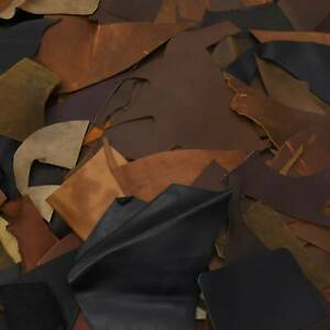 Leather Scraps Beige Gray Tan Brown Italian leather Big Pieces Scrap Best Quality for Handcrafts