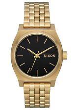 Nixon A1130-2810 Medium Time Teller Women's Watch Gold 31mm Stainless Steel