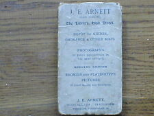 Arnett's Large Scale Map Of Tenby And District-on linen Scale 2miles to the inch