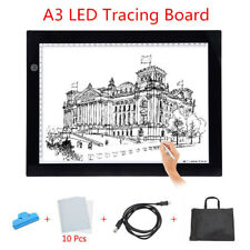 New A3 LED Tracing Light Ultra-slim Pad Box Tattoo Drawing Table Stencil Board