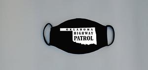 Oklahoma Highway Patrol Reusable Face Mask Trooper Sheriff Deputy LEO OK