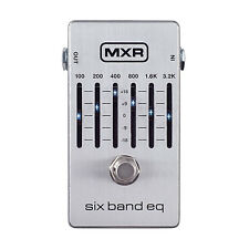 New MXR 6 Band Graphic EQ Equalizer Pedal - M109S