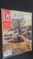 Revista Semanal Dibujada Descubrimientos Junior N º 28 Gallimard Buen Estado