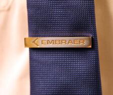 Tiebar Tie Clasp Tie Clip Bar EMBRAER ERJ Company GOLD