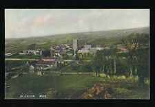Somerset BLEADON  General view Used 1907 PPC local publisher Hawtin