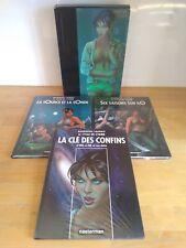 Le Cycle de Cyann par Bourgeon & Lacroix tomes 1 à 4 + hors série Casterman EO