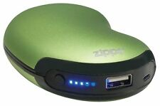 Zippo 40485, 6 Hour Rechargeable Green Hand Warmer, Power Bank