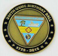 USMC 240th Birthday 1775-2015 VMM-263 Thunder Chickens Challenge Coin CC39