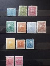 14x Timbres Stamps EL SALVADOR 1867-1848 Unused Neufs *