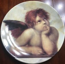 Chateau Valmont Angel Decorative Plate Collectible 7 3/4 inches