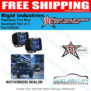 Rigid Lighting 20201 Radiance Pod Blue Backlight Pair of 2