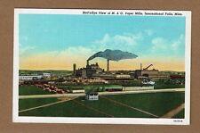 International Falls,Minnesota,MN Bird's-eye view of M & O Paper Mills circa 1935