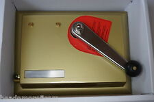 SUPERMATIC II - 2 - Zigaretten Stopfmaschine Stopfer Stopfgerät Shooter gold