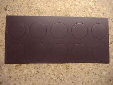 10 x SELF ADHESIVE MAGNETIC ROUND MAKEUP BLUSH EYE SHADOW PANS MAC PRO PALETTE