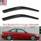 For Honda Civic Coupe 2Door 1996-2000 Window Visor Rain Guards Shades Deflectors
