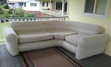 Comfort Inflatable Air Sofa Chair Corner Couch Bed Seating Travel Relax Sleeper