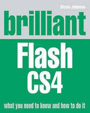 NEW BOOK Brilliant Flash CS4 by Steve Johnson