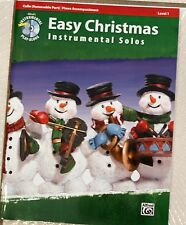 Easy Christmas Instrumental Solos Cello
