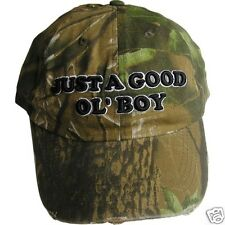 "CAPS Camo-Distressed-3D-Embroidery ""GOOD OL' BOY""  Vibrant Novelties ® NH-USA"
