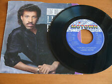 """7"""" 45 LIONEL RICHIE Love Will Conquer All Only One PS CANADA MOTOWN soul pop M-"""