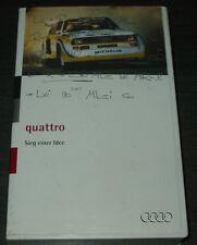 VHS Video Audi Quattro Rallye Urquattro Audi V8 Sieg einer Idee Pikes Peak 1994