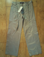 Bnwt Women's French Connection Trousers + Belt RRP£65 New Light Brown