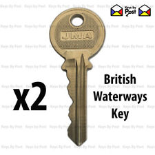 2x BRITISH WATERWAYS FACILITY KEY BWB CRT Canal and River Trust