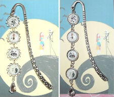 The NIGHTMARE BEFORE CHRISTMAS Bookmark Book Mark Pendant Jack Skellington Sally