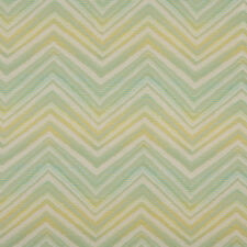 A0105B Green Turquoise Beige Chevron Outdoor Upholstery Fabric By The Yard