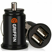 GRIFFIN Twin USB In Car charger cigarette lighter adapter All Phones Brand New