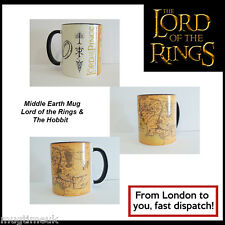Middle Earth Mug - Lord of the Rings & The Hobbit - Mug Cup 330ml