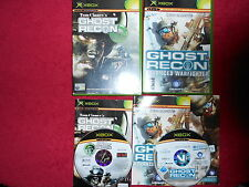 GHOST RECON & GHOST RECON ADVANCED WARFIGHTER  BUNDLE MICROSOFT XBOX 16+ PAL