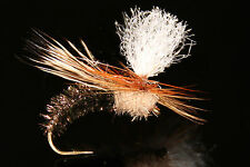 SEDGE EMERGENTE PARA mouche SERENITY- qty/taille - dry fly fishing flies paon