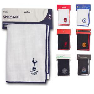 Premier League Aqualock Golf Towel. Liverpool, Arsenal, Newcastle, Leeds Chelsea