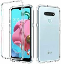 For LG K51 Stylo 6 Case Ultra Slim Crystal Clear Hybrid Shockproof Phone Cover